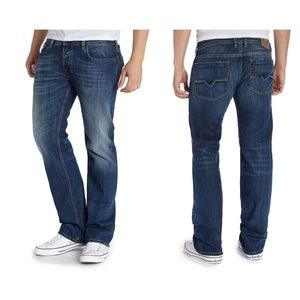 Diesel Zatiny bootcut blue jeans 30 made in italy